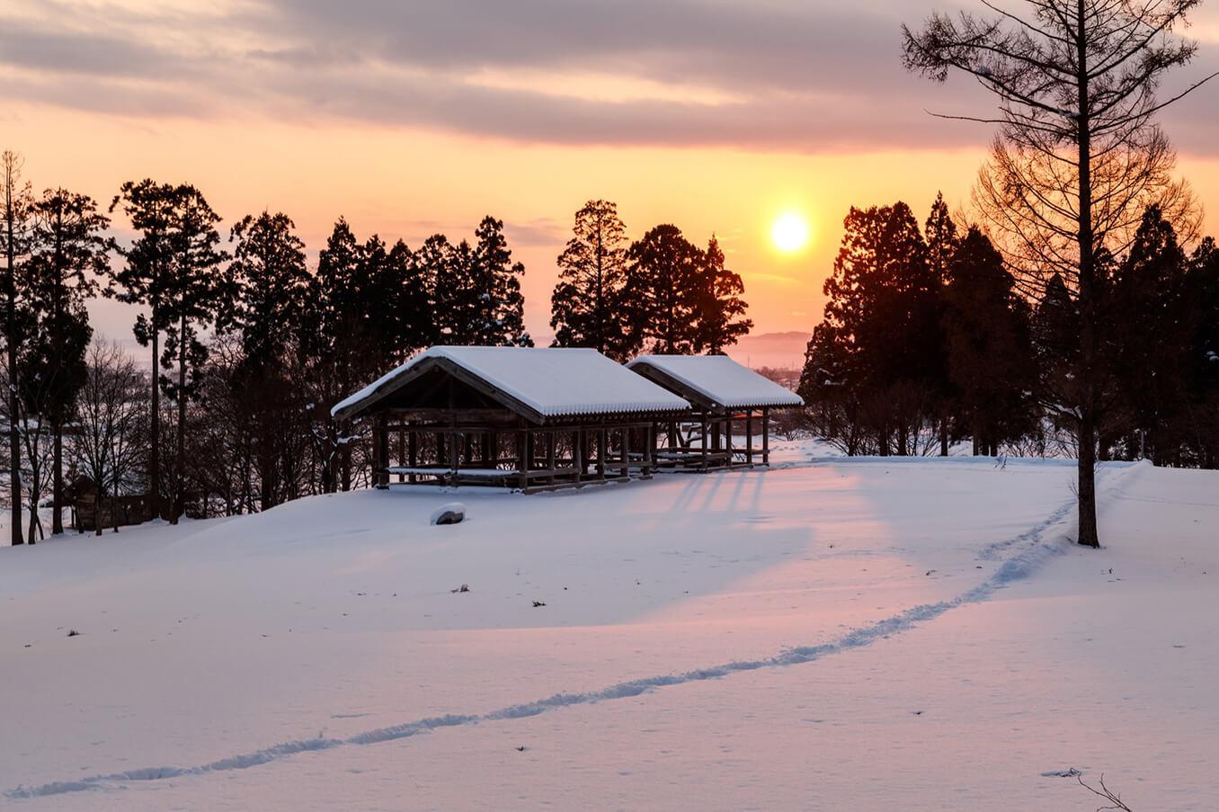 年末のごあいさつと冬季休業日のお知らせの画像